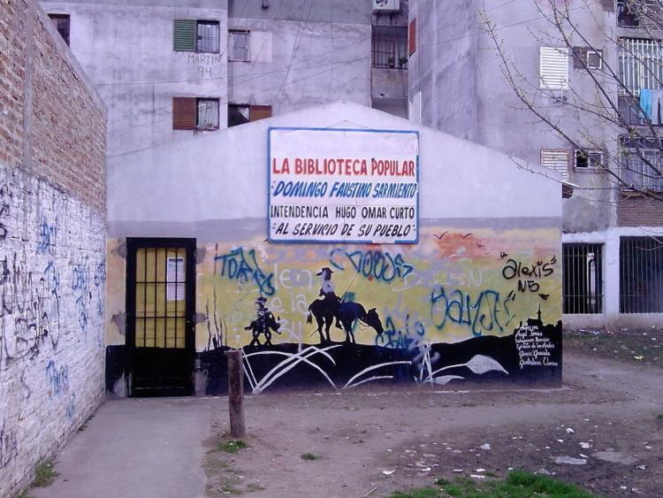 Murales a Fuerte Apache