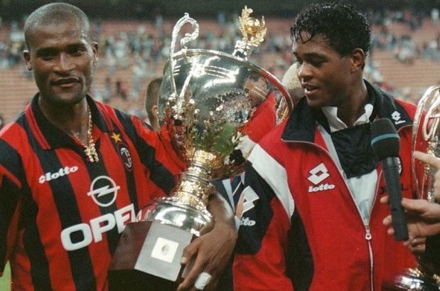 Kluivert Bogarde Trofeo Berlusconi 1997
