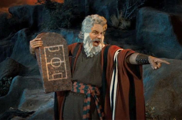 I 10 comandamenti dell 39 oratorio valderrama - Tavole dei dieci comandamenti ...