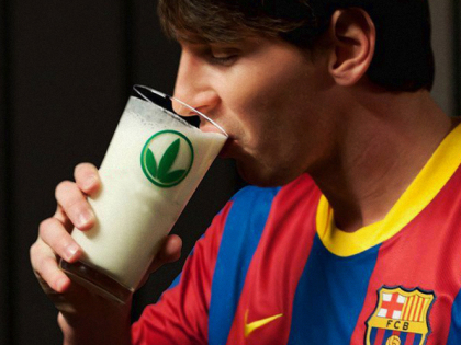 Perdere peso con la dieta di Messi