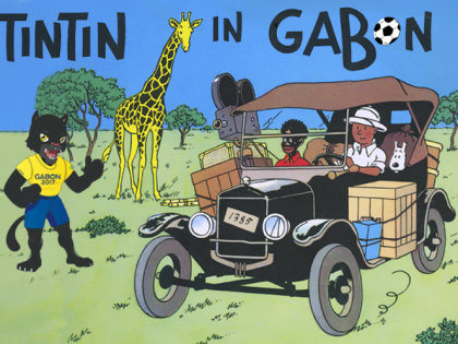 Tintin alla Coppa d'Africa 2017