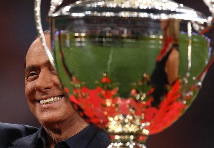 La prima coppa Berlusconi