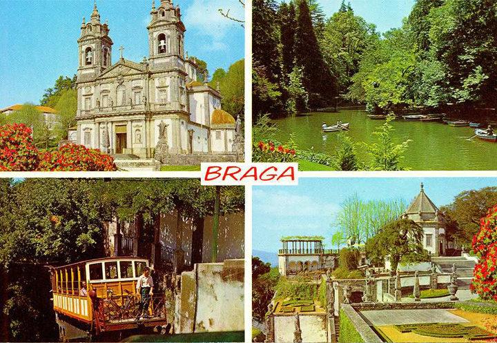 Una cartolina da Braga