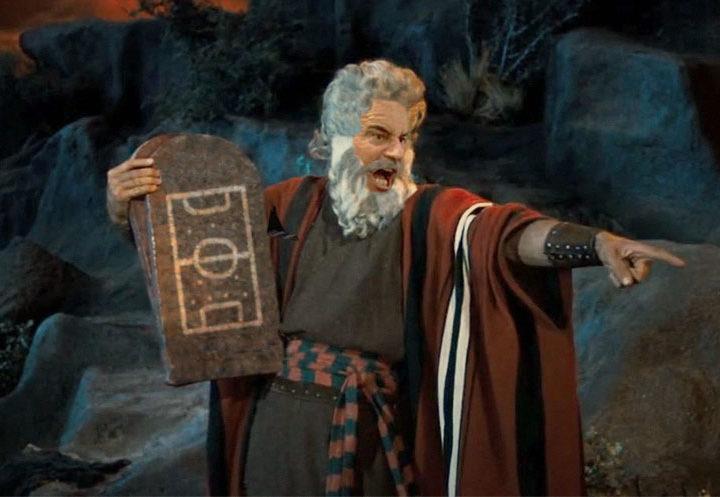 I 10 comandamenti dell'oratorio