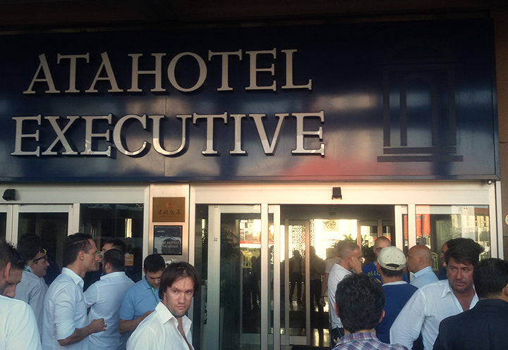 Paura e delirio all'Atahotel Executive