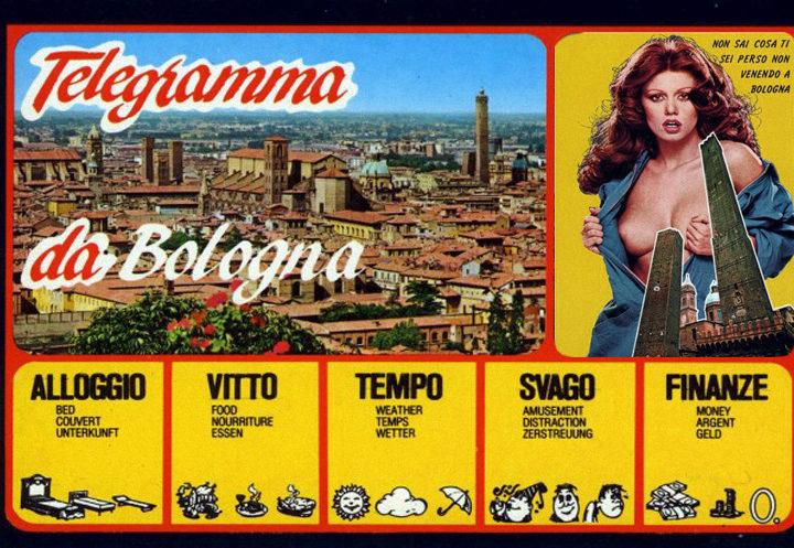 Una cartolina da Bologna